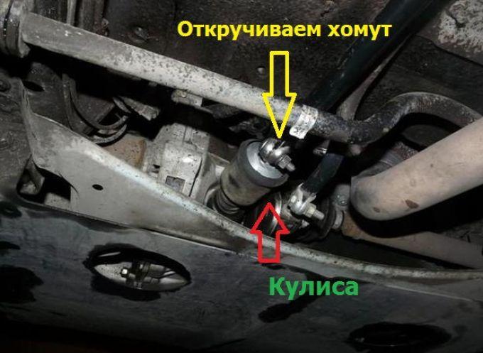 Кулиса Лада Калина