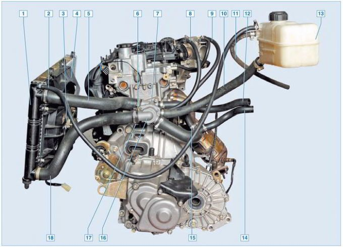 Двигатель Лады Приоры